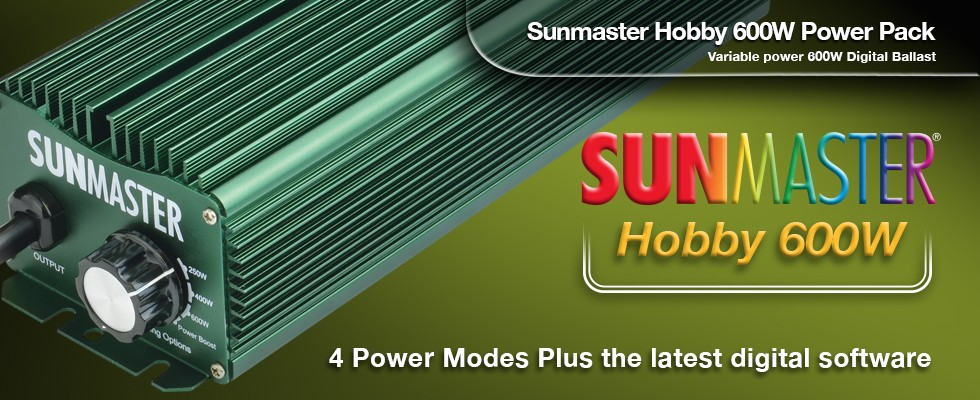 Sunmaster Hobby first slide